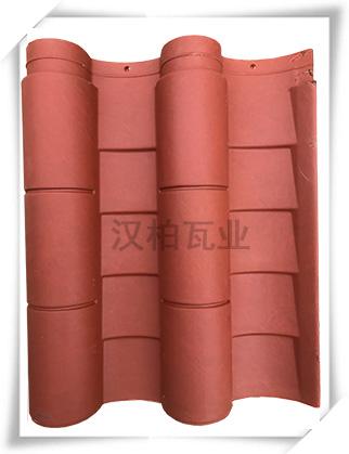 彩陶筒瓦(汉宫红-哑光型)
