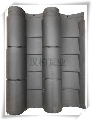 彩陶筒瓦(古典灰)
